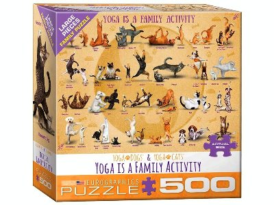 YOGA FAMILY ACTIVITY 500pcXL