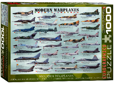 MODERN WARPLANES 1000pc