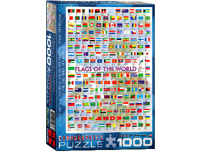 FLAGS OF THE WORLD 1000pc