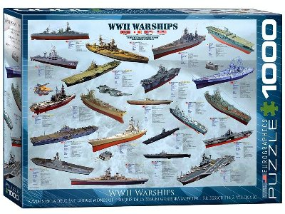 WWII WARSHIPS 1000pc