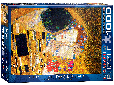 KLIMT, THE KISS 1000pc