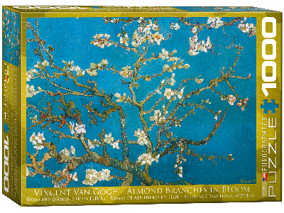 VAN GOGH, ALMOND TREE BRANCHES