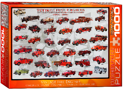 VINTAGE FIRE ENGINES 1000pc
