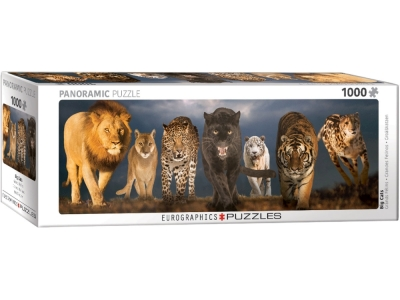 BIG CATS PANORAMIC 1000pcs