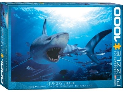 HUNGRY SHARK 1000pc