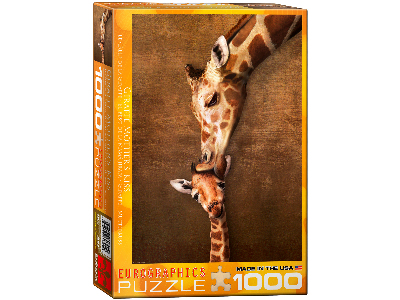 GIRAFFE MOTHER'S KISS 1000pc