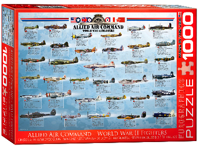 ALLIED AIR COMMD.WWII FIGHTERS