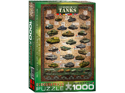 HISTORY OF TANKS 1000pc