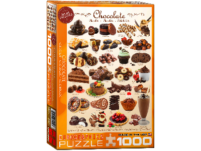 CHOCOLATE 1000pc