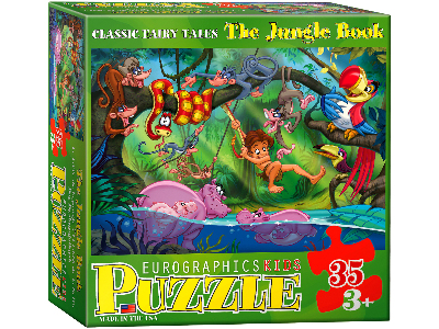 JUNGLE BOOK 35pc