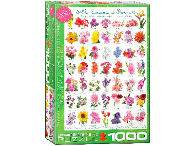 LANGUAGE OF FLOWERS 1000pc