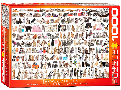 WORLD OF CATS 1000pc