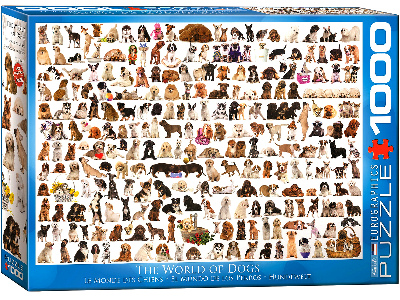 WORLD OF DOGS 1000pc