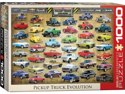 PICK-UP TRUCK EVOLUTION 1000pc