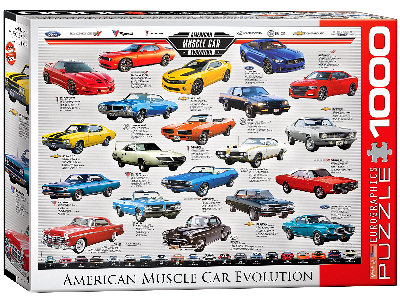MUSCLE CAR EVOLUTION 1000pc