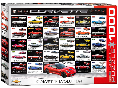 CORVETTE EVOLUTION 1000pc