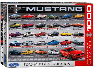 FORD MUSTANG EVOLUTION 1000pc