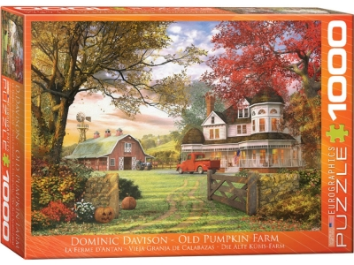 OLD PUMPKIN FARM 1000pc