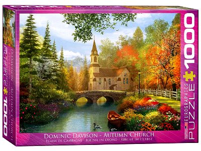 AUTUMN CHURCH 1000pc