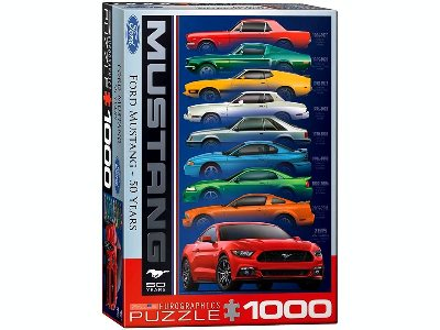 MUSTANG 50 YEARS 1000pc