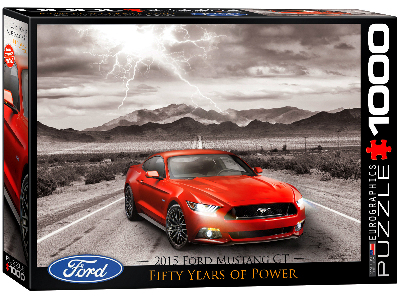 FORD MUSTANG 2015 1000pc