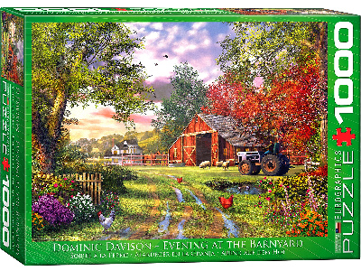 EVENING AT THE BARNYARD 1000pc
