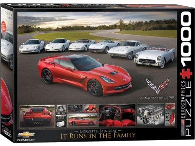 CORVETTE STINGRAY FAMILY 1000p