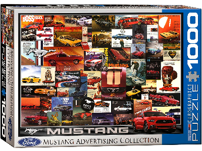 MUSTANG ADVERTISING 1000pc