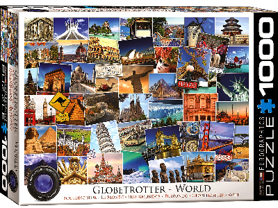 GLOBETROTTER WORLD 1000pc