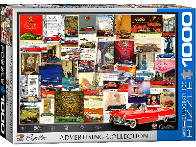 CADILLAC ADVERTISING 1000pc