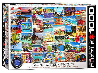 GLOBETROTTER BEACHES 1000pc