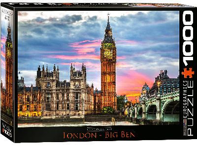 LONDON BIG BEN 1000pc