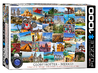 GLOBETROTTER MEXICO 1000pc