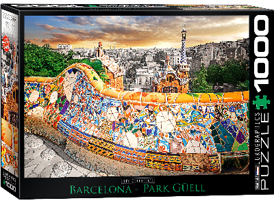 BARCELONA PARK GUELL 1000pc