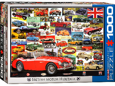 BRITISH MOTOR HERITAGE 1000pc