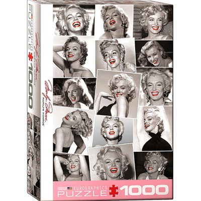 MARILYN MONROE RED LIPS 1000pc