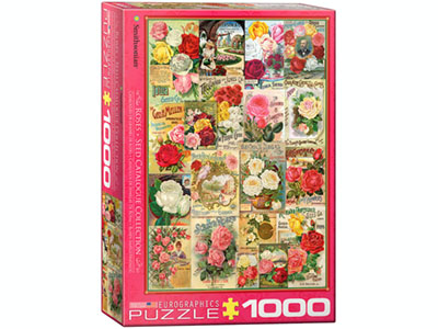 ROSES SEED CATALOG 1000pc