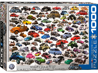 VW WHAT'S YOUR BUG? 1000pc