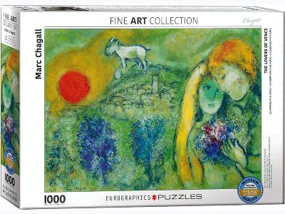 CHAGALL, LOVERS OF VENCE 1000p
