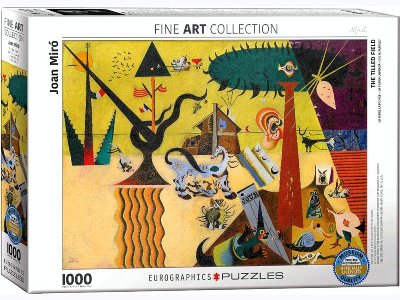 MIRO, THE TILLED FIELD 1000pc