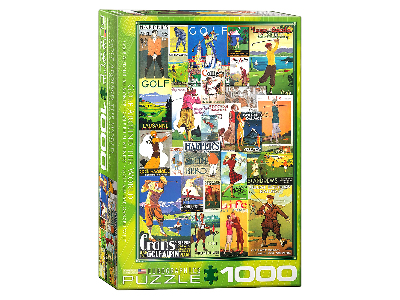 GOLF AROUND THE WORLD 1000pc