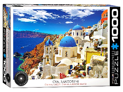 OIA, SANTORINI GREECE 1000pc