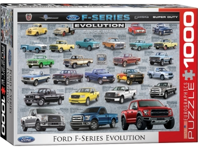 FORD F-SERIES EVOLUTION 1000pc