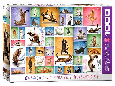 YOGA CATS 1000pc