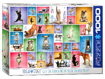 YOGA DOGS 1000pc