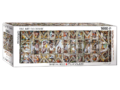 SISTINE CHAPEL CEILING 1000pc