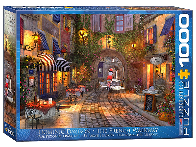 THE FRENCH WALKWAY 1000pc