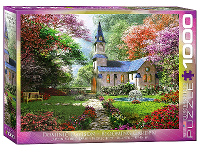 THE BLOOMING GARDEN 1000pc