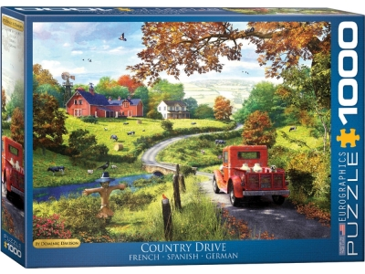 COUNTRY DRIVE 1000pc