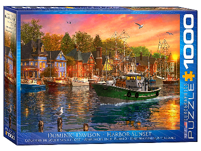 HARBOR SUNSET 1000pc